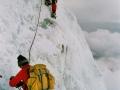 Eiswand am Mt. Blanc
