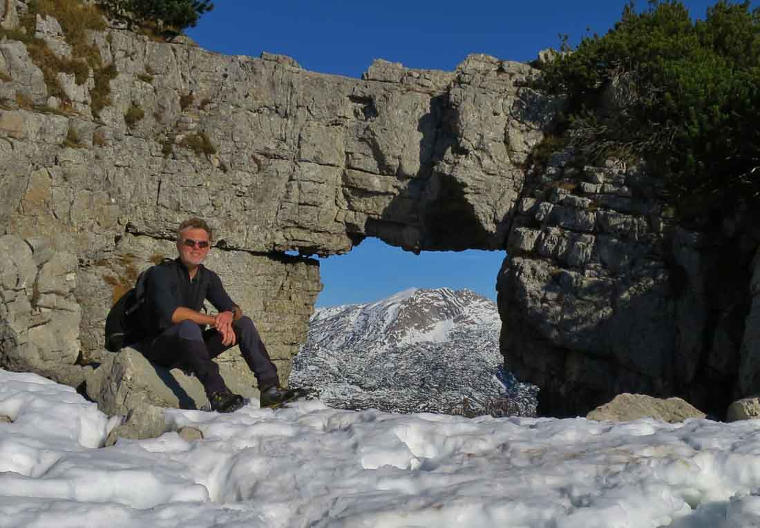 Felsfenster im Toten Gebirge