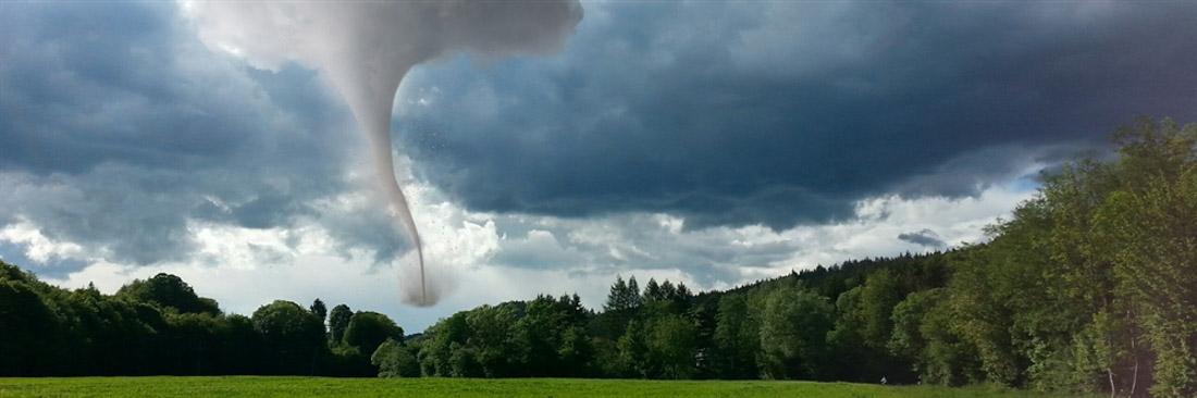 Fotomontage Tornado  ;-)