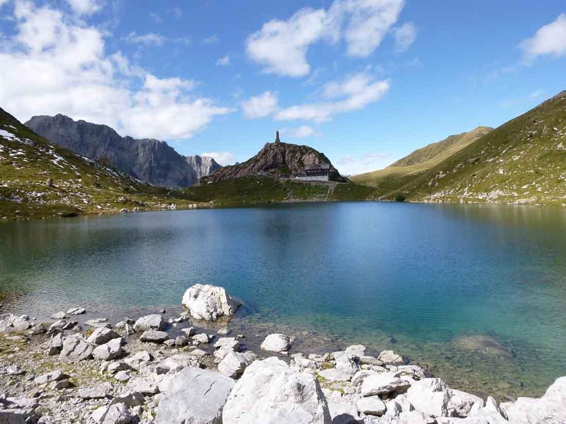 Karnische Alpen/Waloyersee