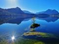 Spiegelung im Altausseersee
