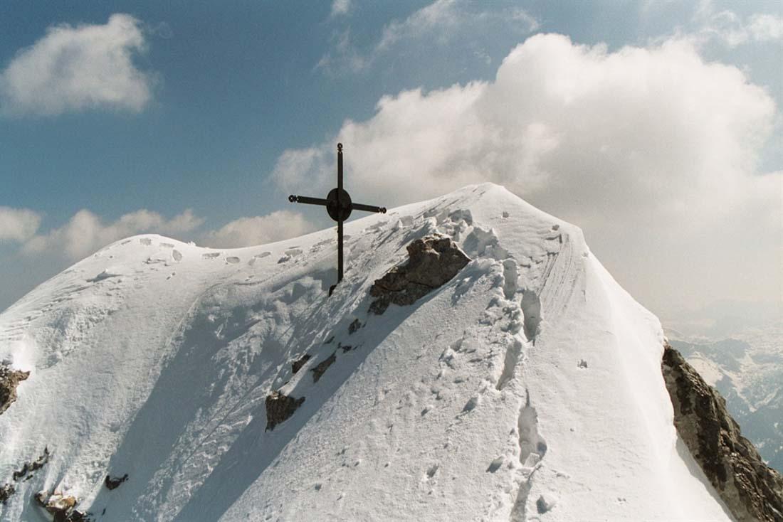 Mittelspitze im Winter