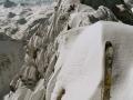 Winterliche Ostwand